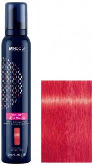 Мусс для окрашивания волос Indola Color Style Красный 200 мл (4045787603613)