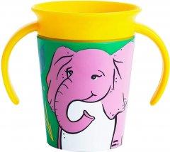 Чашка-непроливайка Munchkin Miracle 360° Trainer cup Слон 177 мл (05177201.01)