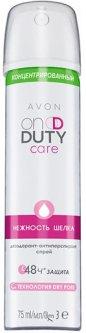 Концентрированный дезодорант-антиперспирант спрей Avon Нежность шелка 75 мл (1307341) (ROZ6400103235)