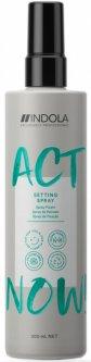 Спрей для волос моделирующий Indola Act Now Setting Spray 200 мл (4045787578768)