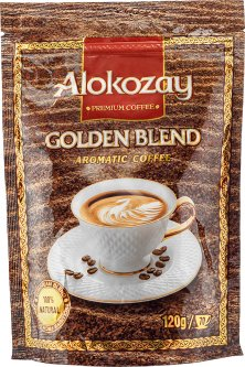 Кофе растворимый Alokozay сублимированный 120 г (4820229040177)