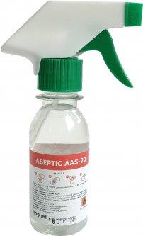 Антисептическое средство для дезинфекции кожи рук и поверхностей Aseptic ААS-20 100 мл (2557000007051)