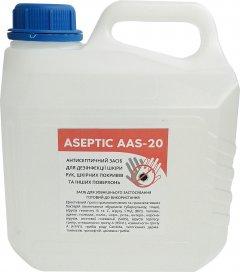 Антисептическое средство для дезинфекции кожи рук и поверхностей Aseptic ААS-20 3 л (2557000007112)