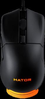 Мышь Hator Pulsar USB Black (HTM-313)
