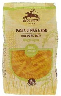 Фузилли Alce Nero Кукурузно-рисовые без глютена Органические 250 г (8009004811539)