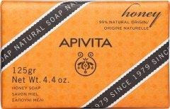 Мыло Apivita с медом 125 г (5201279073176)