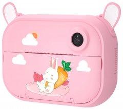 Цифровой детский фотоаппарат-принтер XOKO KVR-1500 Розовый Зайка (KVR-1500-PN)
