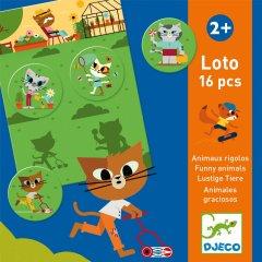 Детское лото Djeco Забавные животные (3070900081277)