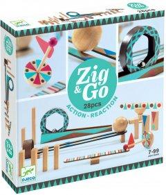 Настольная игра-конструктор Djeco Zig&Go 28 деталей (3070900056404)
