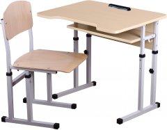 Комплект Сектор Нежность: парта и стул-трансформеры + пенал