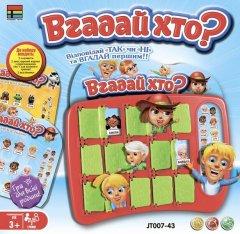 Настольная игра Kingso Toys Угадай кто? (JT007-43)