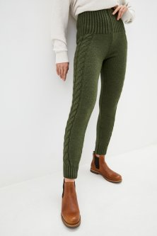 Лосины Sewel LW501500000 46-48 Темно-зеленые (Sew2000000281445)