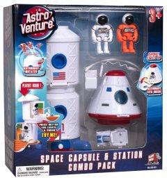 Игровой набор Astro Venture Space Station и Capsule (615266631419)
