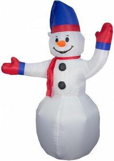 Новогодняя декорация Mag-2000 Снеговик надувной 240 см (830084)