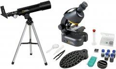 Микроскоп National Geographic Geographic 40x-640x + Телескоп 50/360 с кейсом (9118200)