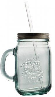 Чашка с крышкой San Miguel Authentic стекло 550 мл (3109)
