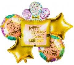 Набор фольгированных шариков Angel Gifts 5 шт Ассорти (Я44069_AG1626-017)