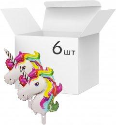 Набор фольгированных шариков Angel Gifts 6 шт Разноцветных (Я45081_AG1626-022_6)