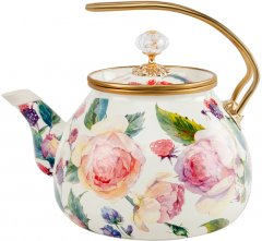 Чайник эмалированный Lefard Elmani с крышкой 3.2 л (763-017)