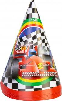 Набор Maxi 6 колпаков на голову на резинке Racing высота 15.24 см (MX20073)