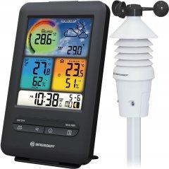 Метеостанция Bresser Wi-Fi Colour 3-in-1 Wind Sensor Black
