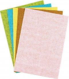 Набор декоративной бумаги Centrum Weaving А5 5 цветов (80312)