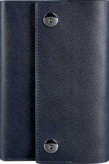 Блокнот BlankNote 5.0 mini Кожаный Темно-синий 14.5 х 22 см 40 л (BN-SB-5-mini-navy-blue)