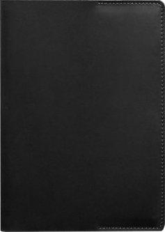 Обложка для блокнота BlankNote Crazy Horse 6.0 mini Кожаная Черная 22.5 х 14.5 cм (BN-SB-6-g-kr-mini)