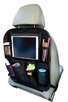 Органайзер DreamBaby на сиденье с держателем для планшета Черный (G1216)