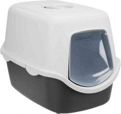 Туалет для кошек Trixie Vico 40х40х56 см Светло-серый (4011905402710)