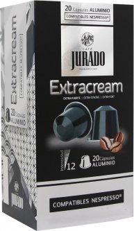 Кофе в алюминиевых капсулах Jurado Aluminium Extracream для системы Nespresso 5 г х 20 шт (8410894006323)