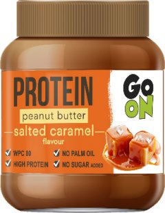 Арахисовая паста GO ON Nutrition Protein Peanut butter 350 г Salted Caramel (5900617039798)