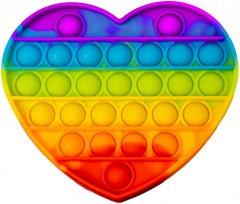Игрушка антистресс вечная пупырка Pop It Сердце (2000992408158)