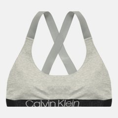 Бюстгальтер Calvin Klein Underwear Unlined Bralette QF6576E-PGK M Grey Heather (8719853932032)