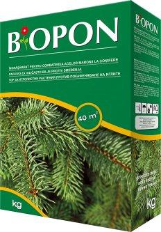 Удобрение BIOPON для хвойных растений против пожелтения 3 кг (590451784636)