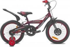 """Детский велосипед Ardis Amazon 16"""" 9"""" 2021 Красный (0439)"""