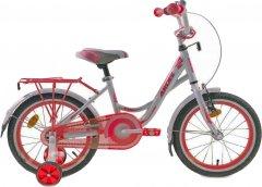 """Детский велосипед Ardis Smart 16"""" 9"""" 2021 Бело-красный (04491)"""