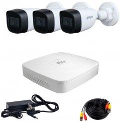 Комплект видеонаблюдения Dahua HDCVI-3W KIT