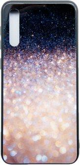 Панель Dengos Glam для Samsung Galaxy A30s/A50s Black/White (DG-BC-GL-67)