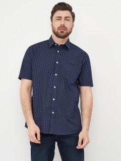 Рубашка Pierre Cardin 557134-71 XL Navy/Wht Geo