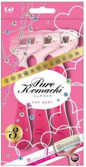 Станок для бритья женский Kai Pure Komachi (4901331001796)