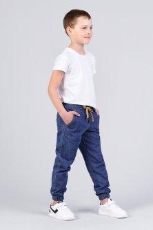 Джинсы для мальчика Zironka Z1-28-1006-1 128 см Синий