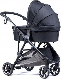 Универсальная коляска 2в1 Baby Monsters Alaska Black Черная (черное шасси) (BMAK-10005_001_BMGB-20001)
