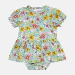 Боди-платье Coccodrillo Le Papillon WC1112801LEP-022 86 см Разноцветное (5904705521615)