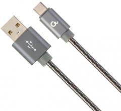 Кабель Cablexpert USB - USB Type-C 2 м Grey (CC-USB2S-AMCM-2M-BG)
