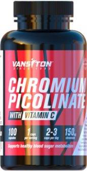 Жиросжигатель Vansiton Пиколинат хрома 100 капсул (4820106590627)