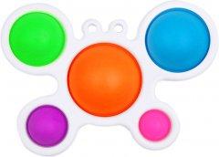 Игрушка антистресс Simple Dimple Белый краб (2000992408349)