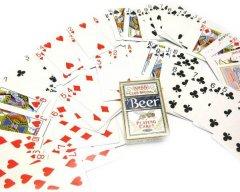Карты игральные Duke Poker 98 Club Special Beer 54 листа 9x6.5x1.9 Синие (DN24968BL)