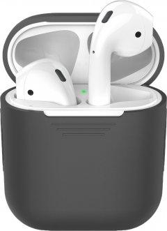 Классический силиконовый чехол AhaStyle для Apple AirPods Grey (AHA-00020-GRY)