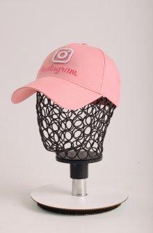 Кепка-бейсболка вышивка Instagram KENT&AVER розовый размер 55-56